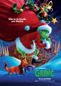 film GRINČ  3D  (Dr. Seuss' The Grinch)