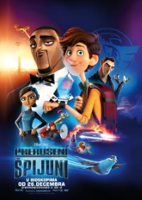 film PRERUŠENI ŠPIJUNI  3D (Sinh.) (Spies in Disguise)